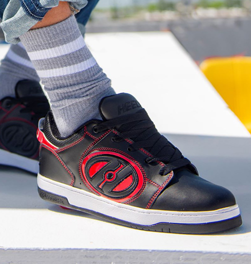 Heelys-Black-Red